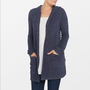 Barefoot Dreams Cozychic Lite Hooded Cardigan xs/s